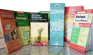 The Lisbon Bike Map, Road Maps of Portugal, Spain and a Camino de Santiago Guide Book
