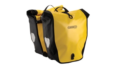 Set of yellow Ortlieb ® Panniers