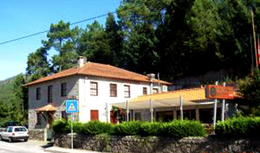 Stone house in forest area, Hotel Pontes Rio Caldo