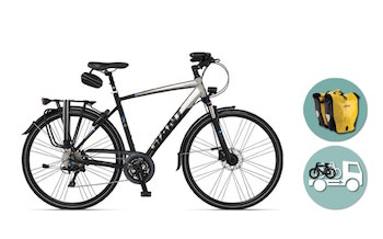 Giant® Touring Bike Rental Basic Package