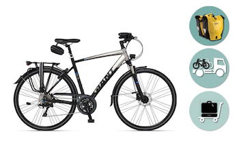 Giant® Touring Bike Hire Comfort Package