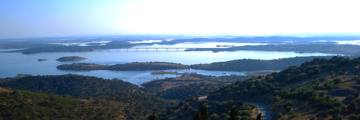 Views over the Alqueva Lake and surrounding country side
