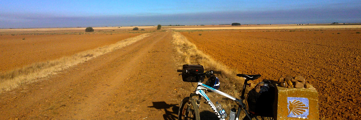 Off-road on the Camino de Santiago