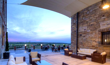 Hotel Via da Plata in Astorga with Terrace overlooking the plains
